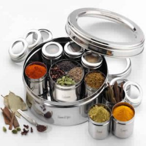 Steel Spice Boxes