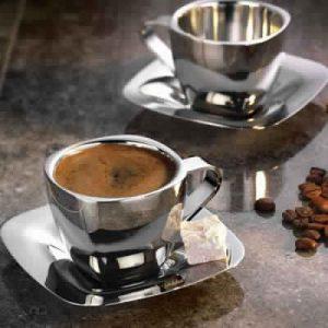Steel Tea And Coffee Mugs