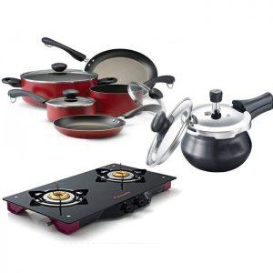 Cooker ,Gas Stove & Non Stick