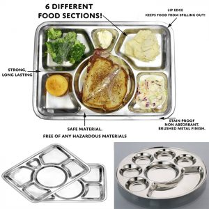 Mess Tray & Compartment Plates