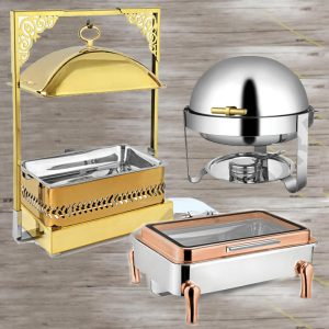 Stainless Steel / Ceramic Chafing Dishes