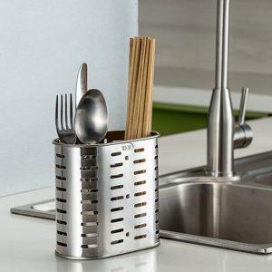 Steel Cutlery & Cutlery Holder
